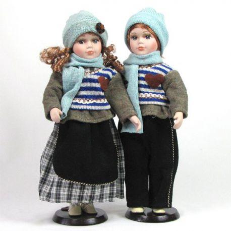 Dvojčata Natálie a Matyáš