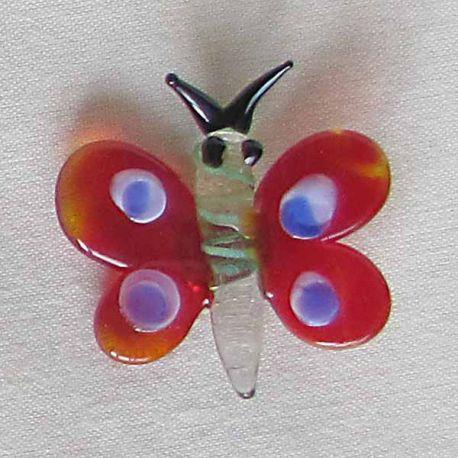 Motýl s magnetkou kulatý