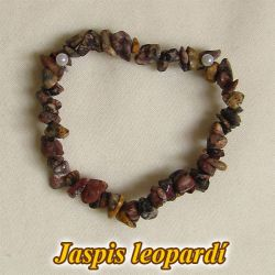 Náramek - leopardí jaspis