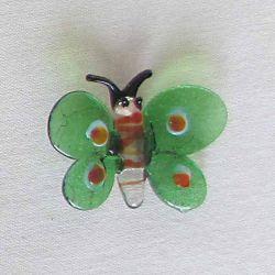 Motýl - magnetka -kulatý