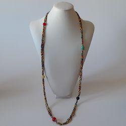 Barevný náhrdelník dlouhý