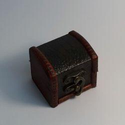 Dřevěná truhlička 08
