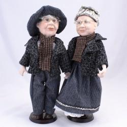 Babča s dědou