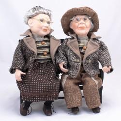 Babička s dědečkem