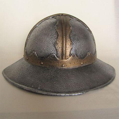 Přilbice husitský klobouk