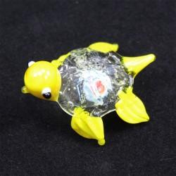 Želvička sklo žlutá