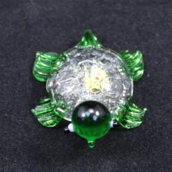 Želvička sklo zelená