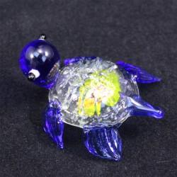 Želvička sklo modrá
