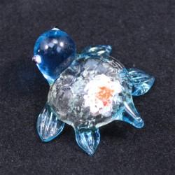 Želvička sklo tyrkysová