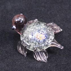 Želvička sklo fialová